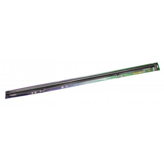Шторка солнцезащитная AS-100 BLACK на заднее стекло (трапеция) 100см