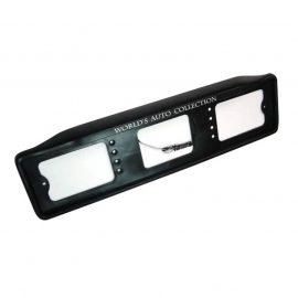 Рамка для номера с подсветкой №004 (Worlds auto collection)
