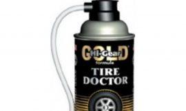 Аварийный герметик для ремонта проколотых шин