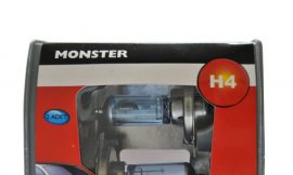 Автолампа MONSTER H4 (60/55) P43t-38 COLD BLUE (2шт) 12V