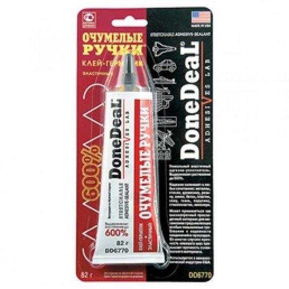 Клей-герметик эластичный »Очумелые ручки»