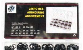 Комплект KR6003 стопорных колец 225пр