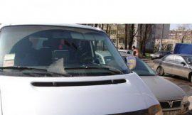 Защита капота 02091 VW T-4 (косые фары) клеющаяся