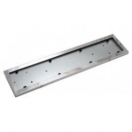 Рамка для номера нержавейка 1шт (Stainless steel) HJ-PF001