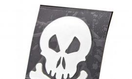 Наклейка 3DS08192 (Череп и кости) 16x20cm