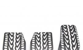 Накладки на педали XB-096 black/silver