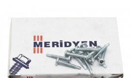 Pan head screw, self drilling, galvanized (800шт)