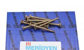 Chipboard screw, yellow galvanized (500шт)