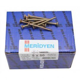 Chipboard screw, yellow galvanized (400шт)