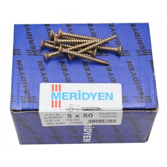Chipboard screw, yellow galvanized (250шт)