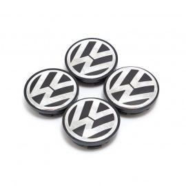 Колпачок на литой диск VW (аллюм.покрытие) 60мм 4пр AV033